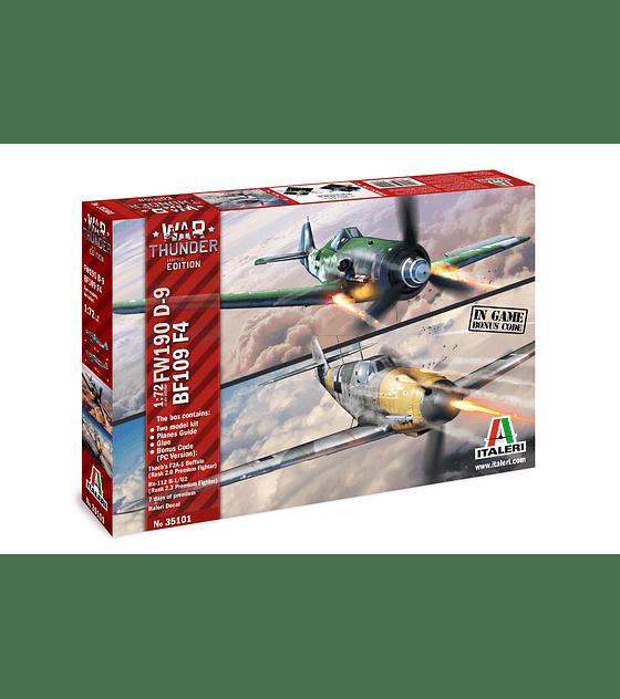 War Thunder: BF109 / FW-190 D9