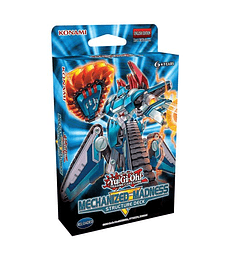 Yu-Gi-Oh! Baraja Estructura Mechanized Madness (Inglés)