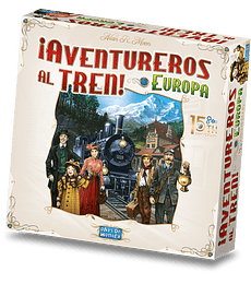 ¡Ticket to Ride! Europa 15th Anniversary