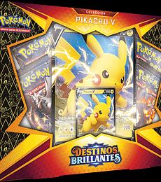 Pokémon Colección Pikachu V Destinos Brillantes (Español)