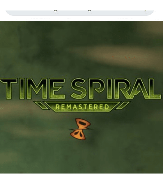 Booster Box Time Spiral Remastered (Español)