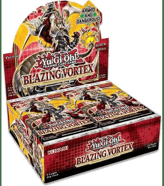 Yu-Gi-Oh! Caja de Sobres Blazing Vortex (Inglés)