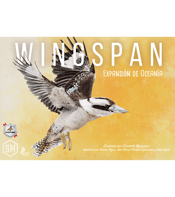 Preventa - Wingspan: Expansión Oceanía