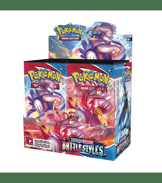 Pokémon Caja de Sobres Sword & Shield – Battle Styles (Inglés)