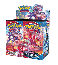 Pokémon Caja de Sobres Sword & Shield – Battle Styles (Inglés)