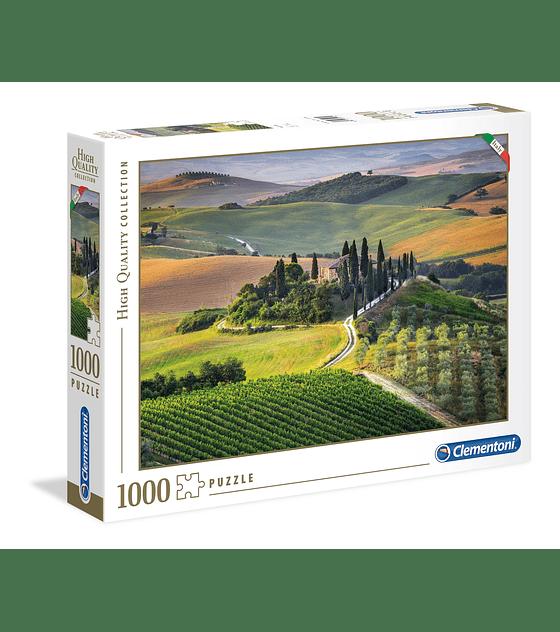 Puzzle 1000 Pcs - Tuscany Clementoni