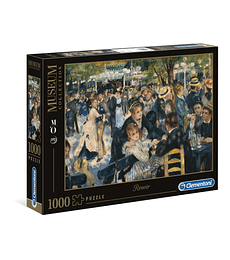 Puzzle MC 1000 Pcs - Renoir Dance at Le moulin de la Galette