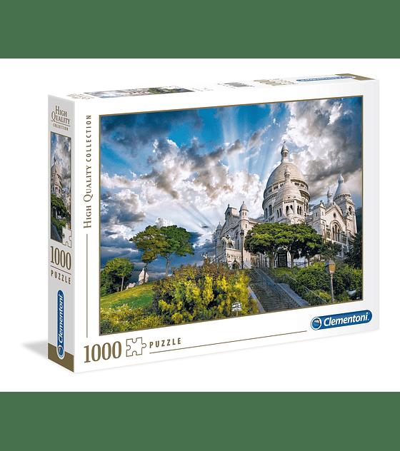 Puzzle 1000 Pcs - Montmartre Clementoni