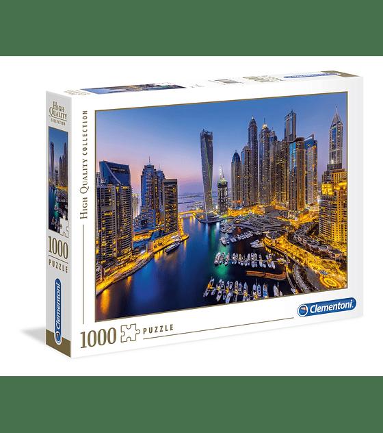 Puzzle 1000 Pcs - Dubai Clementoni