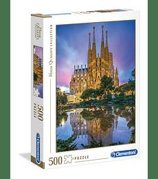 Puzzle 500 Pcs - Sagrada Familia Clementoni