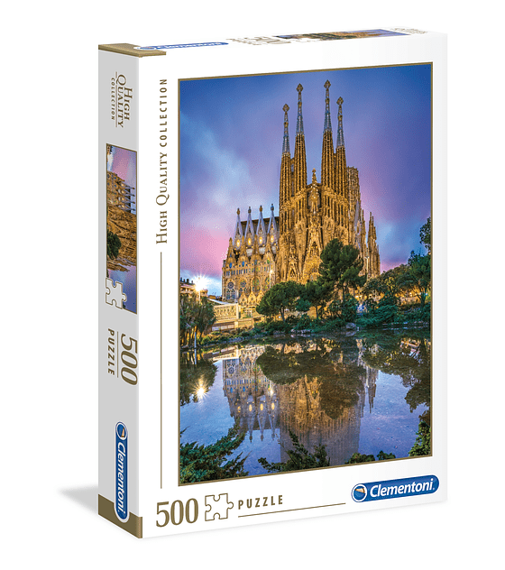 Puzzle Clementoni 500 Piezas Sagrada Familia