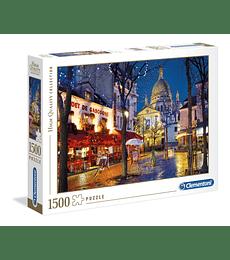 Puzzle 1500 Pcs - Paris Montmartre Clementoni