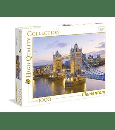 Puzzle 1000 Pcs - Tower Bridge Clementoni