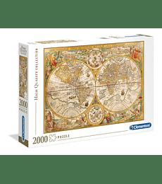 Puzzle 2000 Pcs - Ancient Map