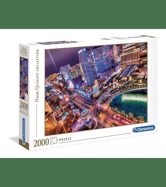 Puzzle Clementoni 2000 Piezas HQC LAS VEGAS
