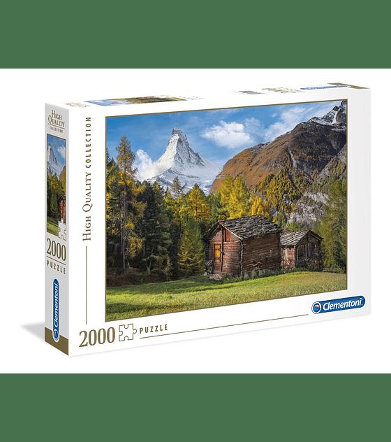 Puzzle 2000 Pcs - Fascination With Matterhorn