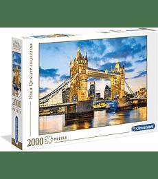 Puzzle 2000 Pcs - Tower Bridge at Dusk