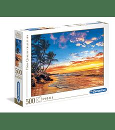 Puzzle 500 Pcs - Paradise Beach Clementoni
