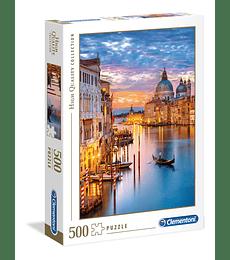 Puzzle 500 Pcs - Lighting Venice Clementoni