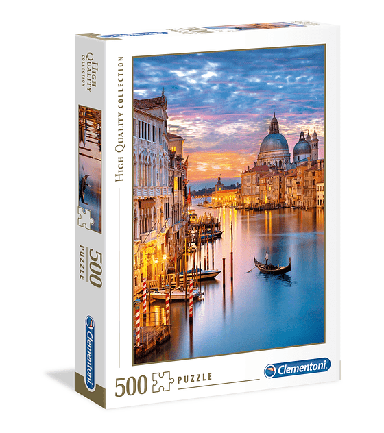 Puzzle Clementoni 500 Piezas LIGHTING VENICE