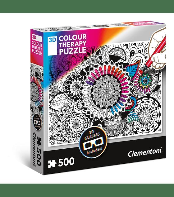 Puzzle Clementoni 500 Piezas 3D COLOR MANDAL