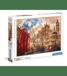 Puzzle 1500 Pcs - Vintage London