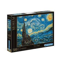 Puzzle 500 Pcs - Notte Stellata Great Museum Clementoni