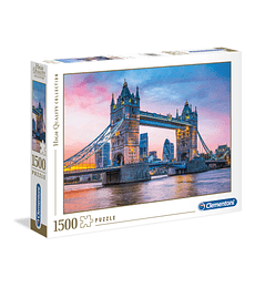 Puzzle 1500 Pcs - Tower Bridge Sunset Clementoni