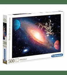 Puzzle 500 Pcs - International Space Station Clementoni