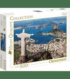 Puzzle 500 Pcs - Rio de Janeiro Clementoni