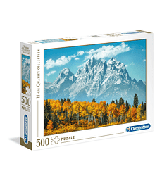 Puzzle 500 Pcs - Grand Teton in Fall Clementoni