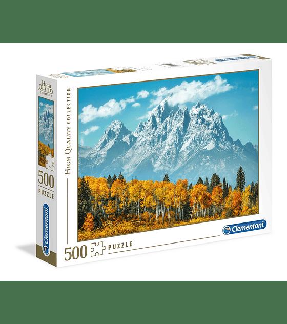 Puzzle 500 Pcs - Grand Teton in Fall Clementoni