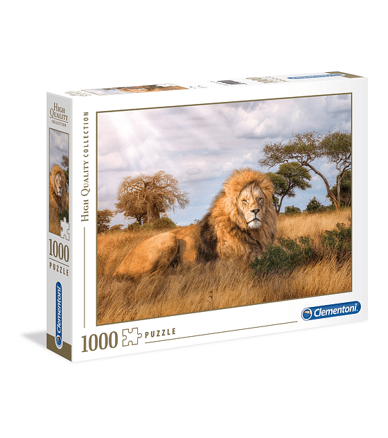 Puzzle 1000 Pcs - The King Clementoni
