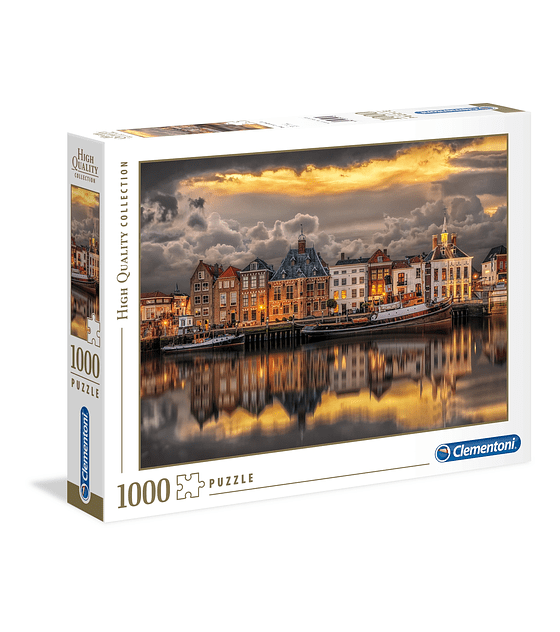 Puzzle 1000 Pcs - Dutch Dream World Clementoni