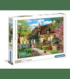 Puzzle 1000 Pcs - The Old Cottage Clementoni