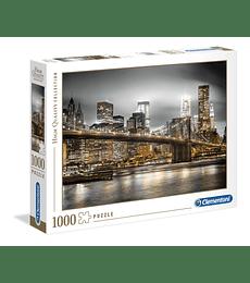 Puzzle 1000 Pcs - New York Skyline Clementoni