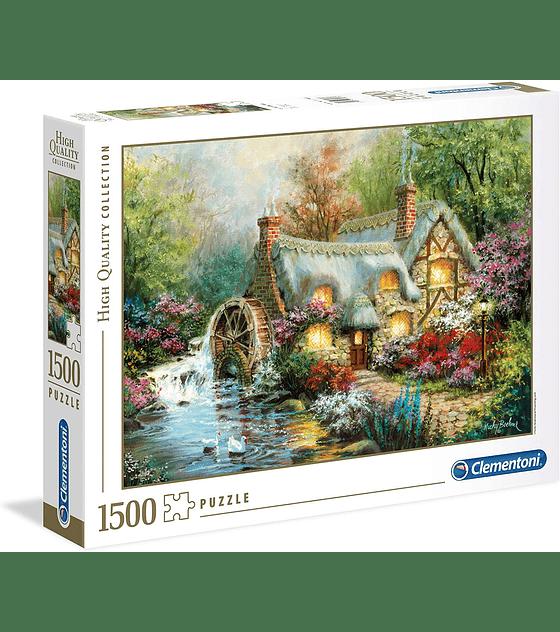 Puzzle 1500 Pcs - Country Retreat Clementoni