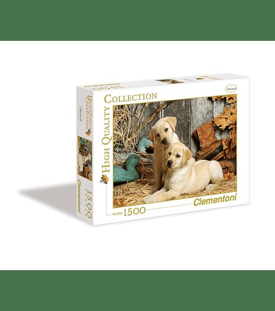 Puzzle 1500 Pcs - Hunting Dogs Clementoni