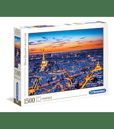Puzzle 1500 Pcs - Paris View Clementoni