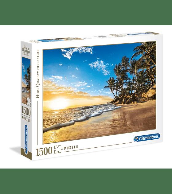 Puzzle 1500 Pcs - Tropical Sunrise Clementoni