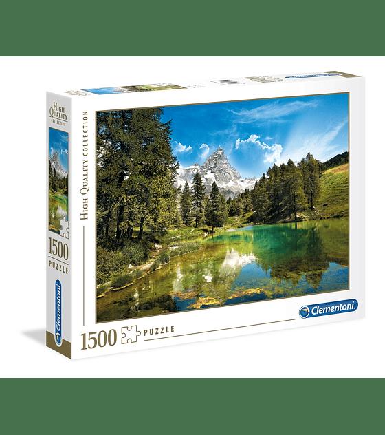 Puzzle 1500 Pcs - Blue Lake Clementoni