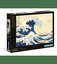 Puzzle MC 1000 Pcs - Hokusai The Great Wave