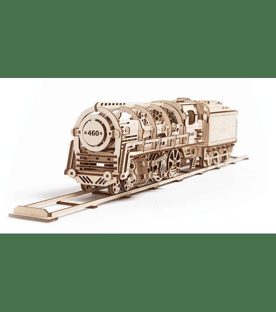Locomotora con Tender