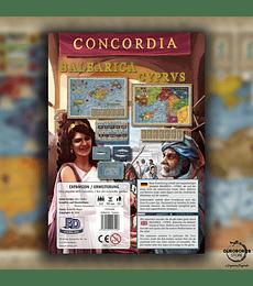Concordia exp. Balearica y Cyprus