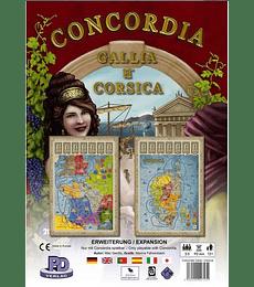 Concordia exp. Galia y Corsica