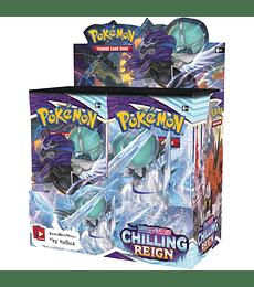 Preventa - Pokémon Caja de Sobres Sword & Shield – Chilling Reign (Inglés)