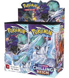 Preventa - Pokémon Caja de Sobres Sword & Shield – Chilling Reign (Español)