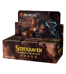 Preventa Strixhaven: Escuela de Magos Draft Booster Box (Inglés)