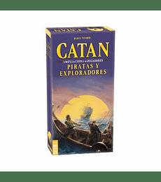 Catan ampl. 5-6 Piratas y Exploradores