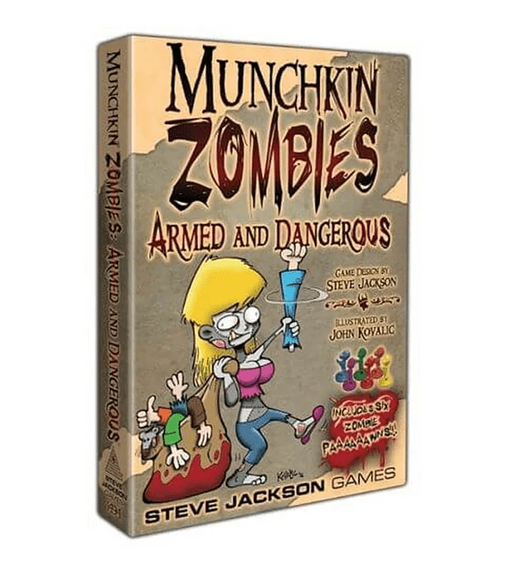 Munchkin Zombies exp Armed and Dangerous